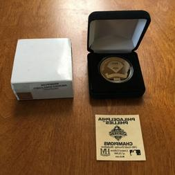 PHILADELPHIA PHILLIES 2008 WORLD SERIES CHAMPS GOLD HIGHLAND