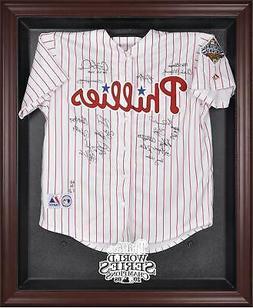 Philadelphia Phillies 2008 World Series Champs Mahogany Fram