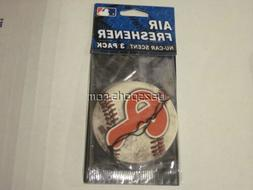Philadelphia Phillies 3 Pack Air Freshener