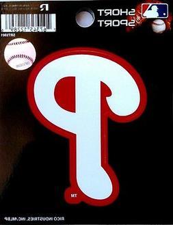"Philadelphia Phillies 3"" SSD Flat Die Cut Decal Bumper Stick"