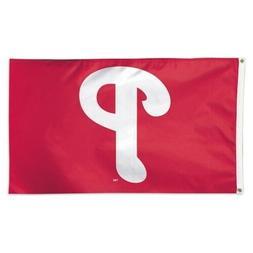 Philadelphia Phillies 3x5 Flag Deluxe Banner MLB Baseball Si
