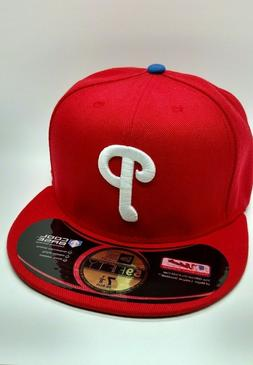 Philadelphia Phillies New Era 59FIFTY Baseball Hat Fitted Re