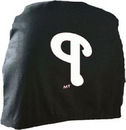 Philadelphia Phillies Auto Head Rest Covers 2 Pack  MLB Car