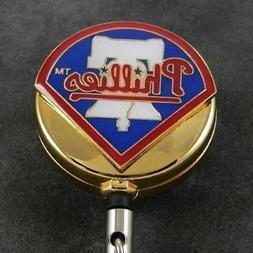 Philadelphia Phillies Badge Reel MLB Retractable Security ID
