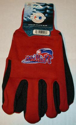 Philadelphia Phillies Ball Official Winter Utility Gloves OS