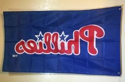 Philadelphia Phillies Baseball 3x5 Flag Banner Man Cave Gift
