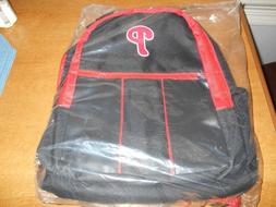 PHILADELPHIA PHILLIES BLACK BACKPACK NEW WITH TAGS