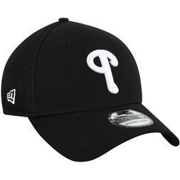 Philadelphia Phillies New Era Black/White Neo 39THIRTY Flex