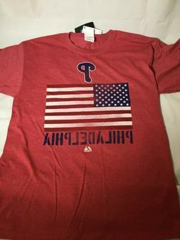 Philadelphia Phillies Majestic Carlos Ruiz Men's Baseball T-