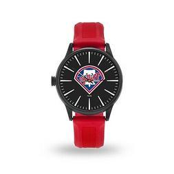 Philadelphia Phillies Cheer Design Watch Team Color Logo Bas