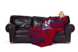 Philadelphia Phillies Comfy Throw - Blanket with Sleeves