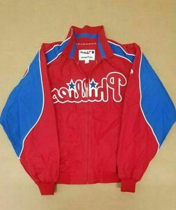MAJESTIC PHILADELPHIA PHILLIES COUCH THERMAL FULL ZIP JACKET