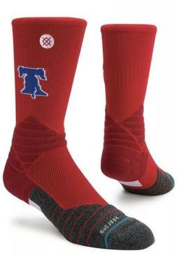 Philadelphia Phillies Stance Diamond Pro Crew Socks - Red