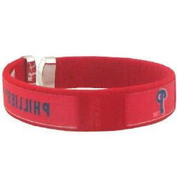 Philadelphia Phillies Fan Band Bracelet Nylon String Cuff Wr