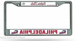 "Philadelphia Phillies ""Fightin Phils"" Chrome Metal License P"