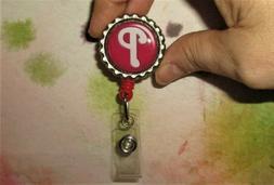 Philadelphia Phillies - ID Badge Reel Holder work card belt