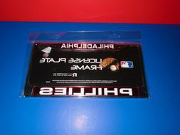 Philadelphia Phillies Laser Chrome License Plate Frame