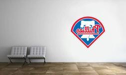 Philadelphia Phillies Logo Wall Decal MLB Baseball Decor Spo