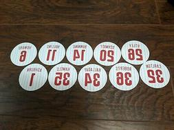Philadelphia Phillies Magnets - Utley, Mike Schmidt, Hamels,