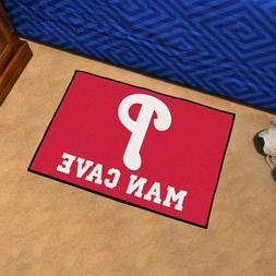 "Philadelphia Phillies Man Cave 19"" X 30"" Starter Area Rug Fl"