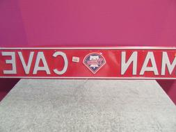 philadelphia phillies man cave street sign harper