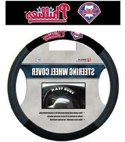 Philadelphia Phillies Mesh Steering Wheel Cover  MLB Car Aut
