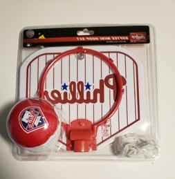 Philadelphia Phillies Rawlings Mini Softee Hoop Set with Bal