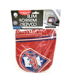 Philadelphia Phillies Mirror Cover Socks Car Truck Auto Larg