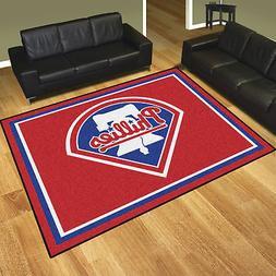 Philadelphia Phillies MLB Area Rug Floor Carpet 8' x 10'
