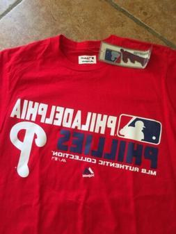 Philadelphia Phillies MLB Authentic Collection Majestic Medi