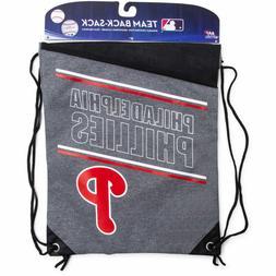 Philadelphia Phillies MLB Backpack Drawstring Cinch Sack 17X