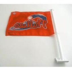 Philadelphia Phillies  MLB Baseball 2 Sided Car Flag