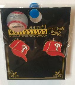Philadelphia Phillies MLB BaseBall Cap Post Earrings