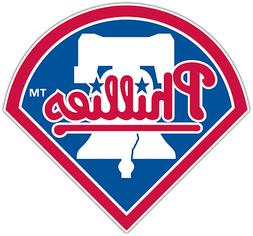 Philadelphia Phillies MLB Baseball Car Bumper Window Sticker