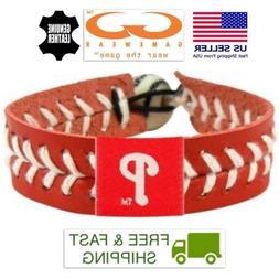 Philadelphia Phillies MLB Baseball Seam Bracelet   Genuine B