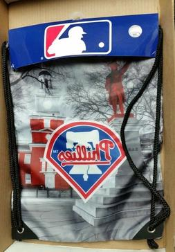 Philadelphia Phillies MLB Bookbag Knapsack Bag Backpack Thin