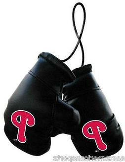 Philadelphia Phillies MLB Boxing Gloves Car Decoration Mirro