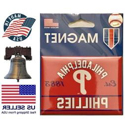 Philadelphia Phillies MLB Fridge Magnet Baseball WinCraft 2.