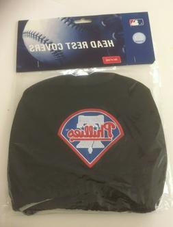 Philadelphia Phillies MLB Head Rest Covers 2 Pack For Car, T