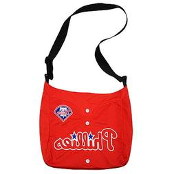 PHILADELPHIA PHILLIES MLB JERSEY FABRIC STYLE MVP MESSENGER