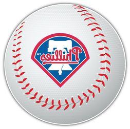 Philadelphia Phillies MLB Logo Ball Car Bumper Sticker Decal
