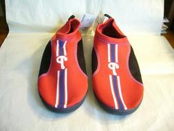 Philadelphia Phillies MLB Men's Size Large  Water Shoes / Bo