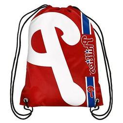 Philadelphia Phillies MLB Side Stripe Big Logo Drawstring Ba