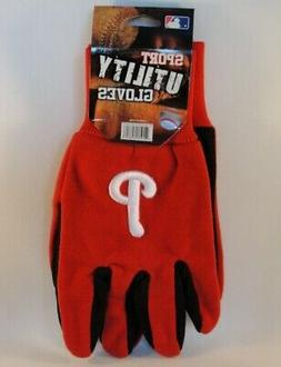 Philadelphia Phillies MLB Sport Utility Gloves Red Black
