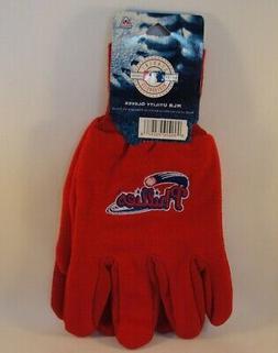 Philadelphia Phillies MLB Sport Utility Gloves Red