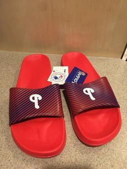 Philadelphia Phillies MLB Team Logo Flip Flop Sandals Shower