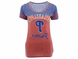 Philadelphia Phillies MLB Touch by Alyssa Milano Women's T-S