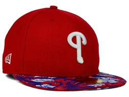 Philadelphia Phillies MLB Wowie Cap Hat New Era 5950 Fitted