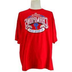Philadelphia Phillies~NEW~Baseball~Men's 2XL~Shirt~MLB~Majes