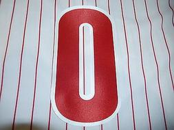 PHILADELPHIA PHILLIES Number KIT For Sleeve of JERSEY 4 Inch